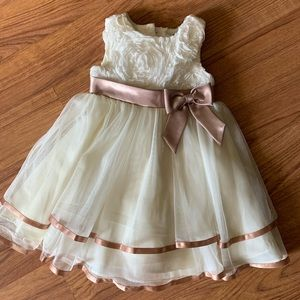 Rare Editions girls dress - church - wedding